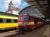 A ČD 371 003-5 Praha hlavní nádraží állomáson
