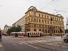 The Prague historic tram number 2272 at Jan Palach square