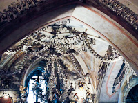 Kutná Hora - the Bone Chapel in the Sedlec Ossuary