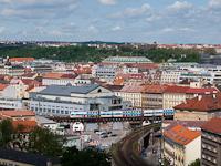 CityElefant érkezik Praha Masarykovo nádražíra