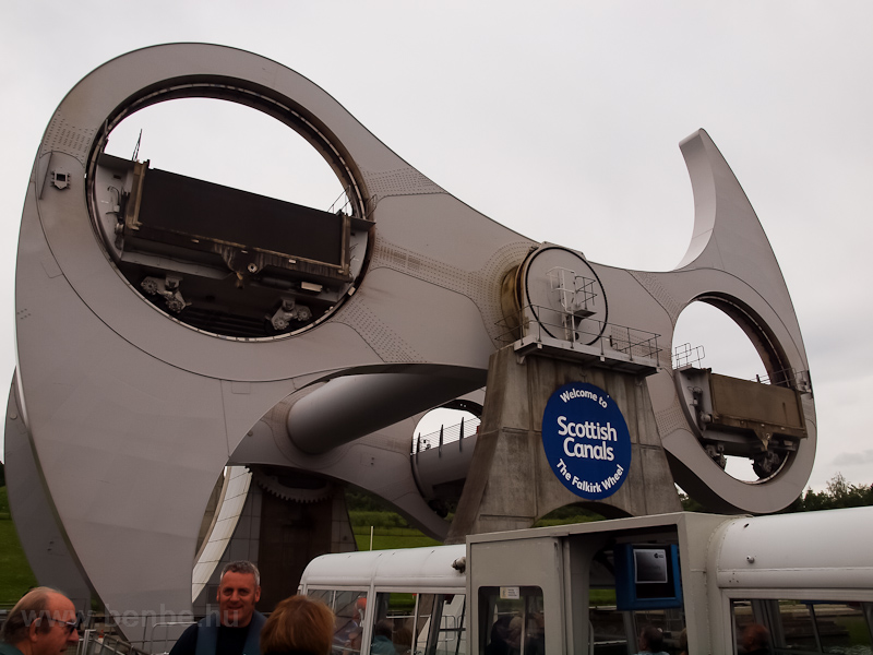 Falkirk wheel photo