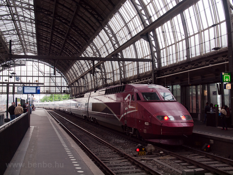 The SNCF PBA Thalys number  photo