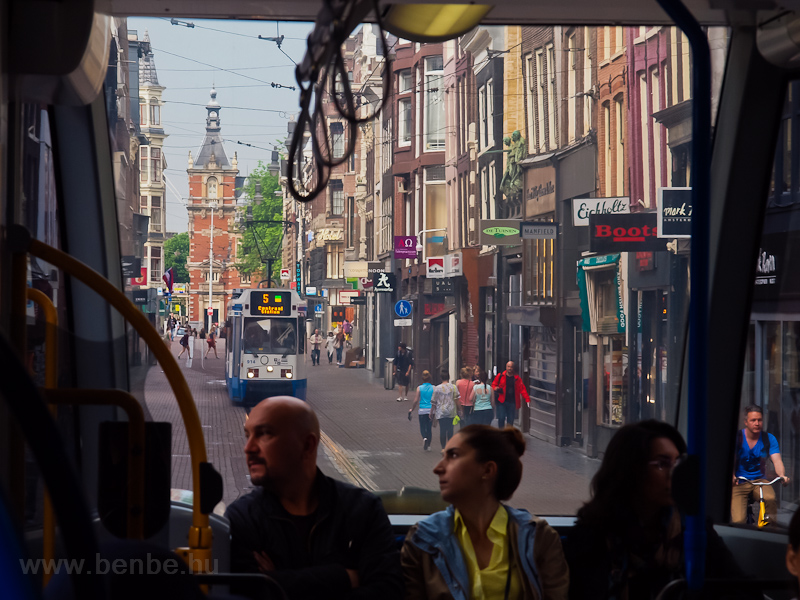 Amsterdam tramcar number 91 picture