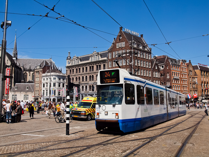 Tram at Amsterdam picture