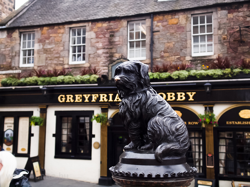 The Greyfriars Bobby at Edinburgh photo