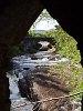A Loch Ness-be torkolló Moriston folyó Invermoriston falvacskánál