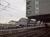 Hatrészes Sprinter LighTTrain Amsterdam Centraalon