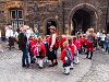 Skót diákok látogatóban Edinburgh Castle-ben