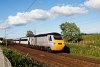 EastCoast IC125 High Speed Train Longniddry és Prestonpans között Edinburgh elővárosában