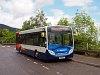 Helyközi busz a Loch Ness-nél