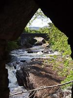 A Loch Ness-be torkoll� Moriston foly� Invermoriston falvacsk�n�l