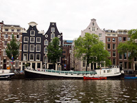 Boatride on the canals of Amsterdam
