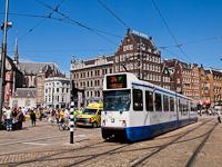 Tram at Amsterdam