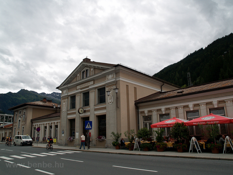 The railway station at Bad  photo