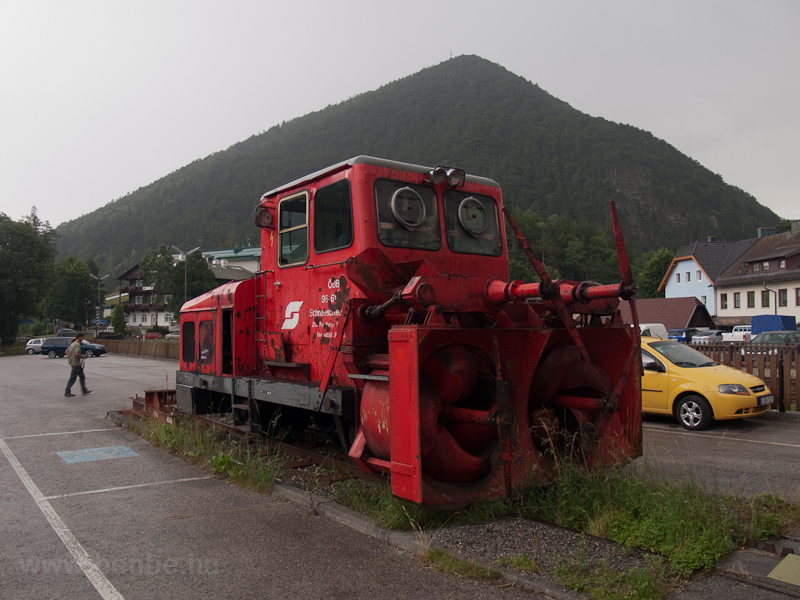 Rotary snow plough at Puchb photo