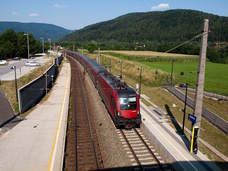 The ÖBB 1116 247 seen hauli photo