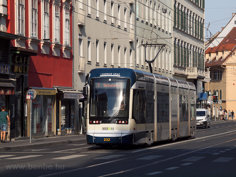 Trams at Graz photo