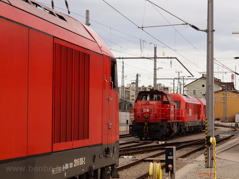 The ÖBB 2070 021-7 seen at  photo
