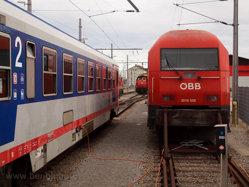 The ÖBB 2016 028 seen at Wi photo
