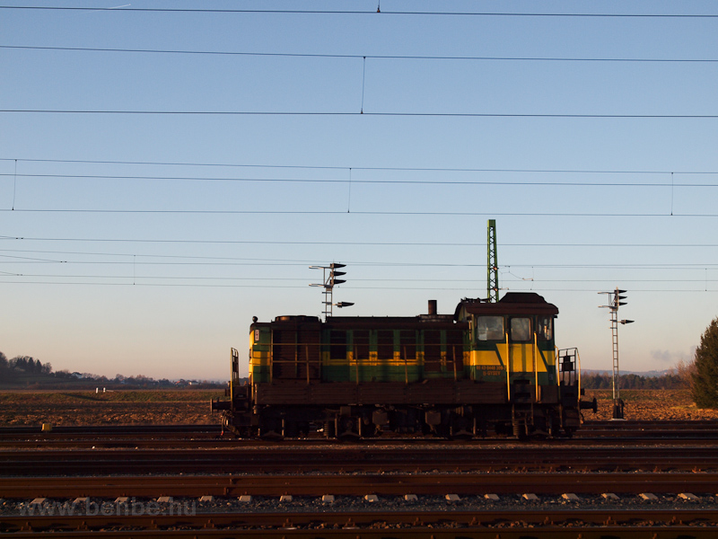 The GYSEV 448 309-7 seen at picture