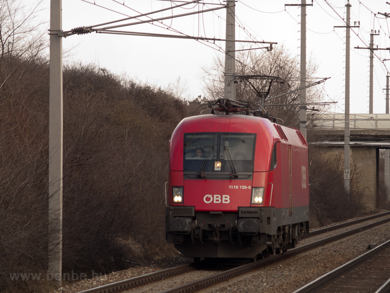 The ÖBB 1116 129-6 seen bet photo