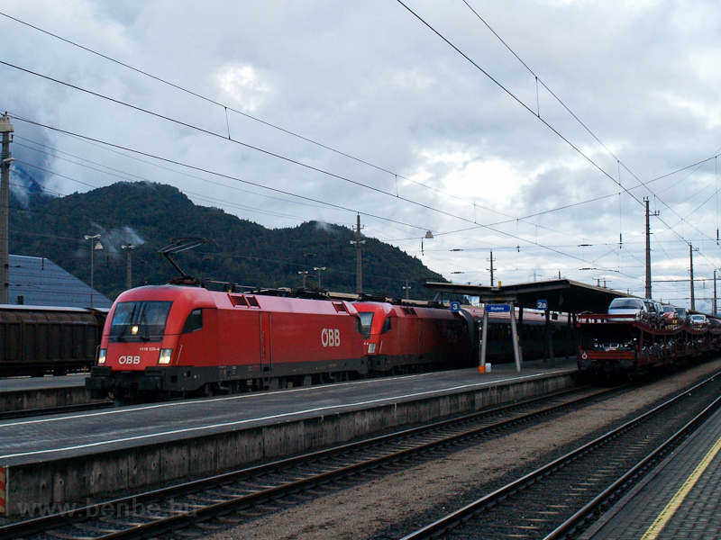 The ÖBB 1116 130-4 seen at  photo