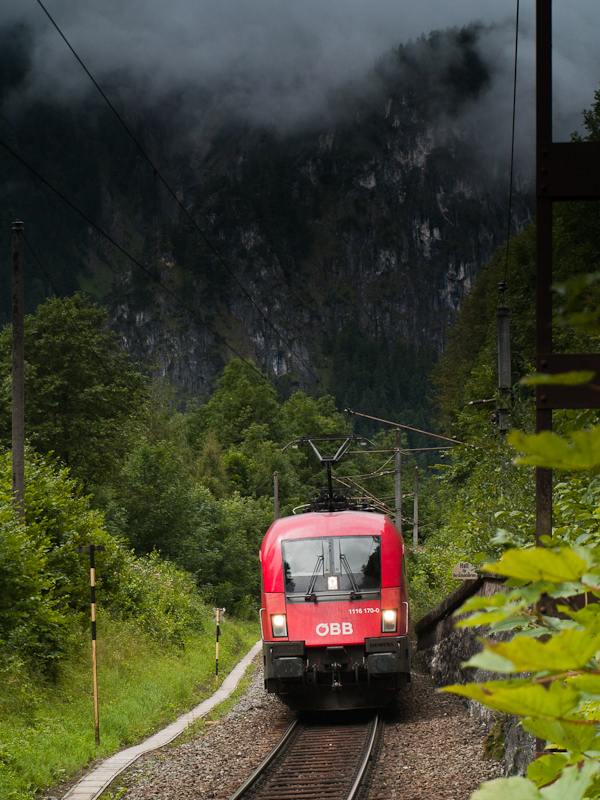 The ÖBB 1116 170-0 seen bet photo