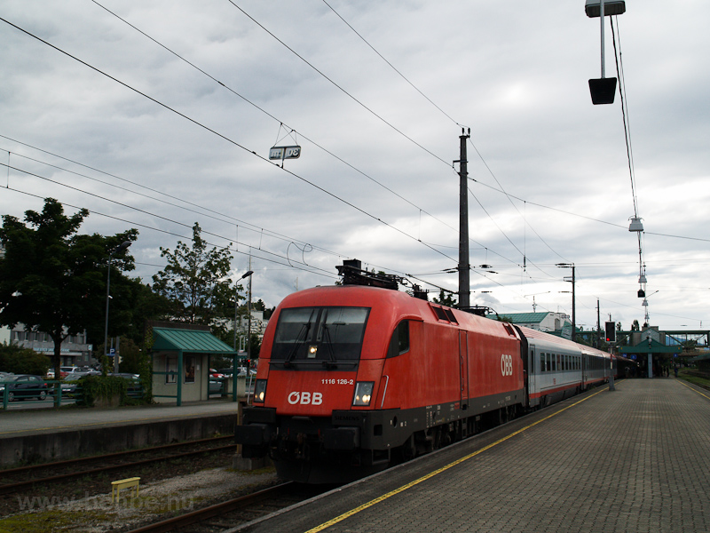 The ÖBB 1116 126-2 seen at  photo