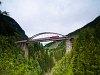Az Arlbergbahn-Ostrampe ékköve, a Trisannabrücke
