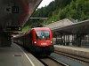 Az ÖBB 1016 010-9 St. Anton am Arlberg állomáson