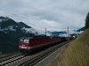 Egy ÖBB 1144 261 tehervonattal Mallnitz-Obervellach és Oberfalkenstein között