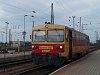 A MÁV-START Bzmot 267 Hegyeshalom állomáson