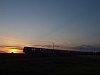 CityShuttle ingavonat a napnyugtában