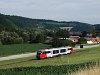 Egy ismeretlen ÖBB 5022 Desiro  Petersbaumgarten és Edlitz-Grimmenstein között az Aspangbahnon
