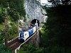 A Wiener Lokalbahnen ES 64 U2 021 Klamm-Schottwien és Breitenstein között