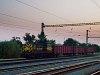 A GYSEV 448 312 pályaszámú Bobo tolat Szentgotthárd állomáson