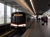 A V sorozatú, 3855 pályaszámú metró az U2 vonalon Seestadtban