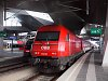The ÖBB 2016 037 seen at ehem. Südbahnhof