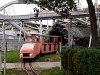 A Praterben található Lilliputbahn D3 pályaszámú dízelmozdonya
