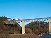 Egy �BB 5022 Rohrbach-Vorau �s Dechantskirchen k�z�tt a Lafnitz-viadukton