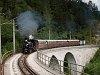 A NÖVOG Mh 6 Annaberg és Gösing között a Saugrabenviadukton