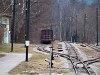 A Payerbach-Reichenau ÖBB állomás és Hirschwang közötti villamosított kisvasút vonala Reichenauban