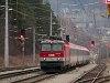 Az ÖBB 1044 023 Payerbach-Reichenau állomáson