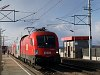 The ÖBB 1116 027-2 seen at Parndorf Ort