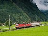 The ÖBB 1116 133 seen between Bludenz and Braz