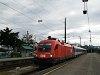Az ÖBB 1116 126-2 Bregenz állomáson