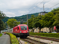The ÖBB 1116 113-0 seen between Bregenz Hafen and Bregenz