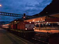 Az ÖBB 1063 049-9 Feldkirch állomáson