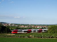 Egy ÖBB 4124 sorozatú motorvonat Vulkapordány és Szárazvám között