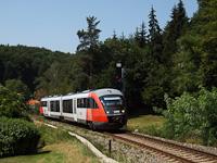 The ÖBB 5022 002-7 seen between Lassnitzhöhe and Lassnitzthal